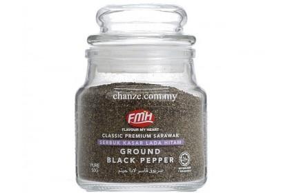 Classic Premium Ground Black Pepper FMH黑胡椒碎(幼)-50g